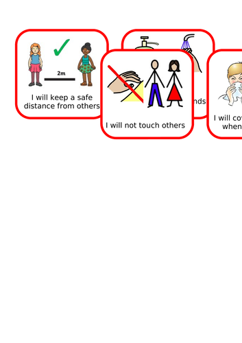 Keeping Safe Visuals (COVID-19)