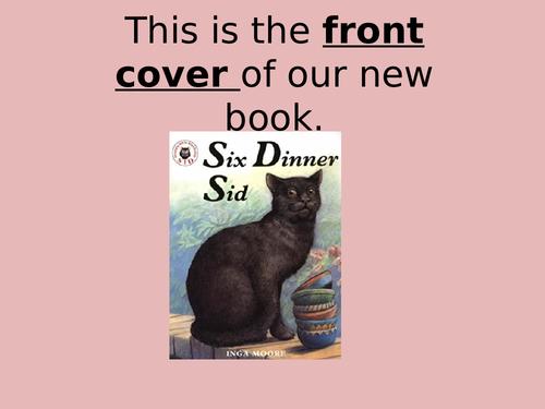 Six Dinner Sid Literacy Pack