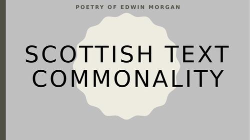 Edwin Morgan Scottish Text Resources