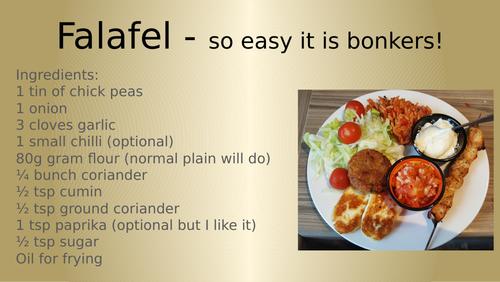 Falafel how to make tutorial
