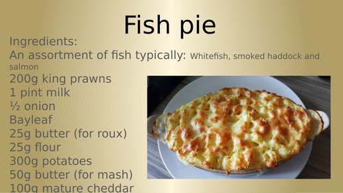 Fish pie how to make tutorial