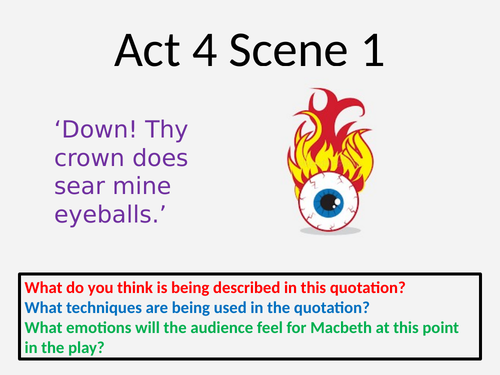 Act 4 Scene 1 Macbeth