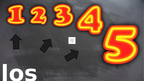 WHOLE UNIT KS2 Spanish: Numbers, los numeros