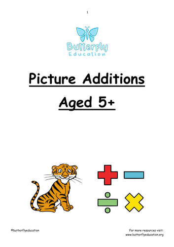 5+ Picture Additions Workbook