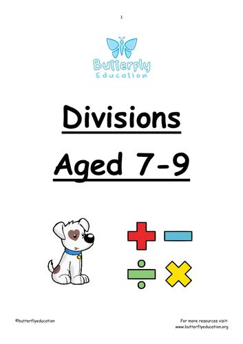 7-9 Divisions Workbook