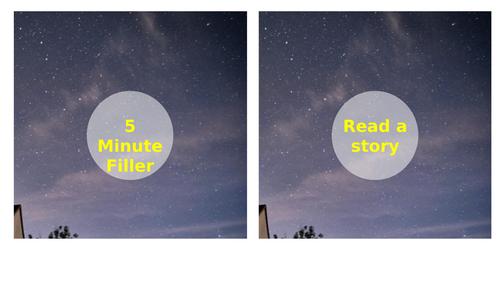 5 Minute Fillers Stars