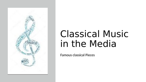 Classical Music in the Media Performance Task Distance Learning