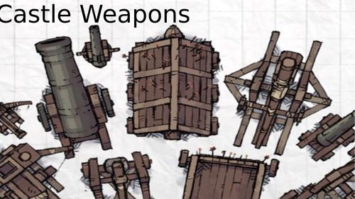 Castle Weapons lesson and Trebuchet Design