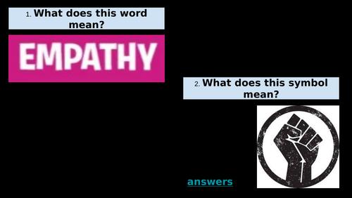 Empathy with Black British People - English Lesson (KS2)