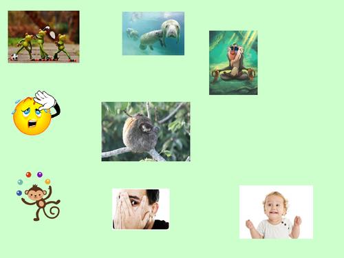 Verb JUGAR (full conjugation) + Jungle Theme