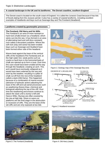 Case studies - GCSE Geography (OCR B)