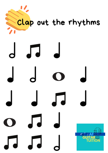Clap the rhythms