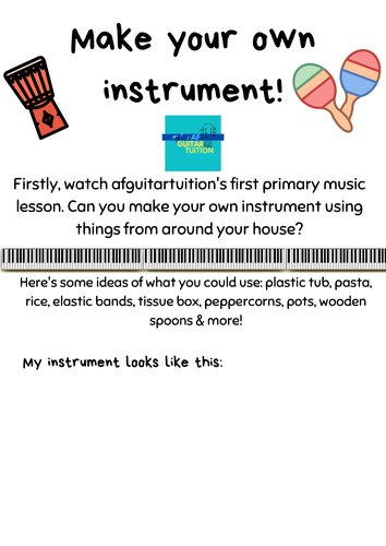 Make your own instrument template