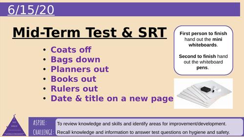 Mid-Term Test & SRT