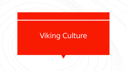 Viking Culture Powerpoint
