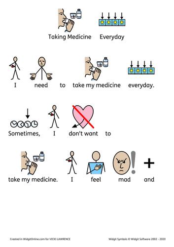 Taking medicine social story