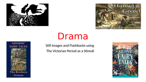 Drama lesson and plan using Victorian Period as a Stimulus