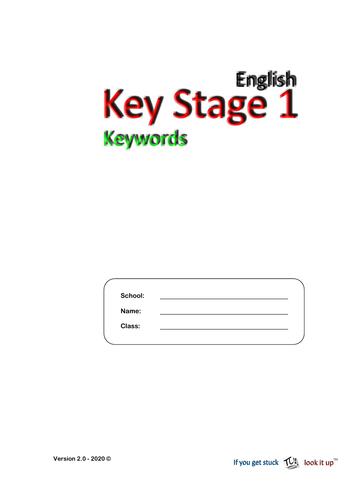 Keystage 1 - Key Words (2020)