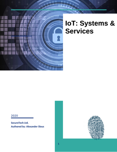 The Internet of Things (IoT) Assignment 1: Systems and Services