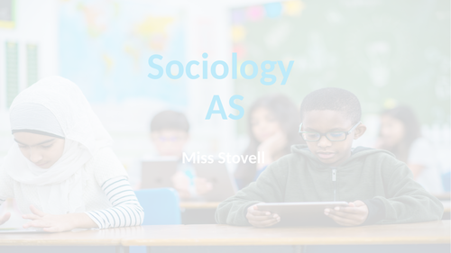 Sociology Introduction - Education - AQA