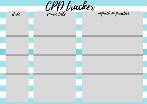 CPD Tracker