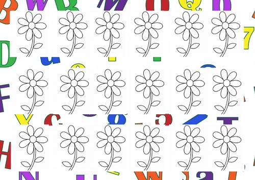 Flower Colour Patterns