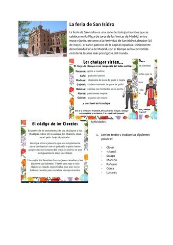 San Isidro - Madrid-  Festividades