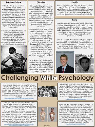 Black Psychology / Black History Month / Black Lives Matter