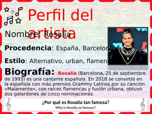 Spanish music, music club