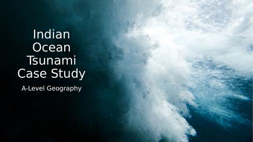 Indian Ocean Tsunami Case Study AQA A-Level Geography