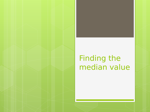 Introducing the median extending to IQR