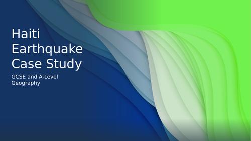 Haiti Earthquake Case Study