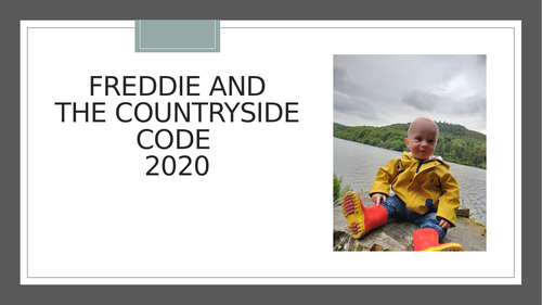 Freddie and the Countryside Code