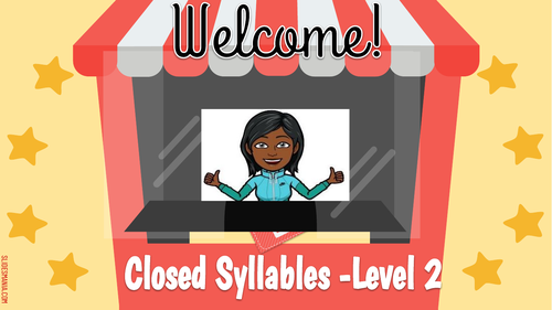 Closed Syllables Level 2