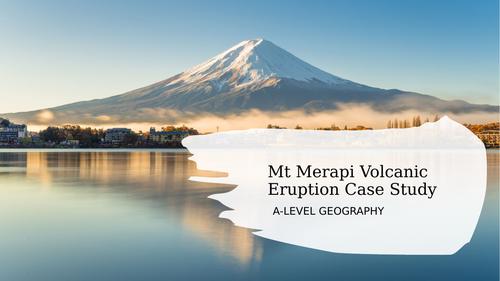 Mt Merapi Volcanic Eruption Case Study