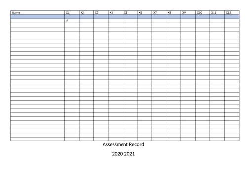 Multiplication Assessments KS1 & KS2