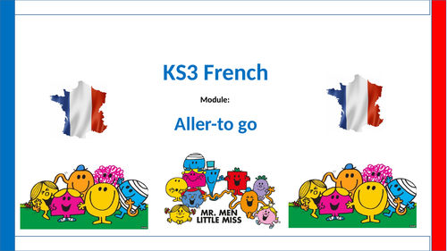 Three lessons which cover free-time activities and FAIRE/ER VERBS/ALLER