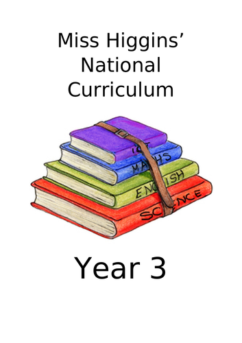 Year 3 National Curriculum