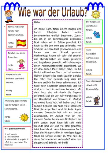 AQA GCSE German Stimmt! (Higher) - Kapitel 6 - Wie war der Urlaub? - Page 122