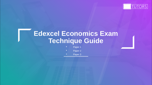 Exam Technique in Economics: A Level