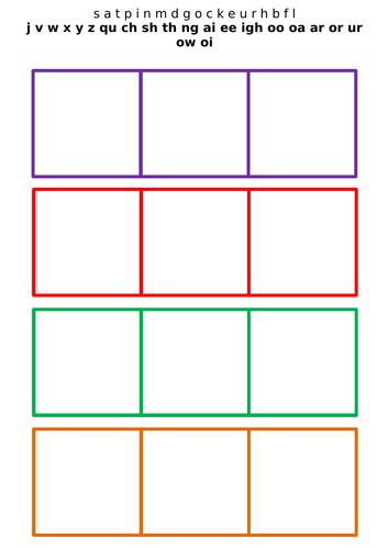 Phoneme frames phase 3