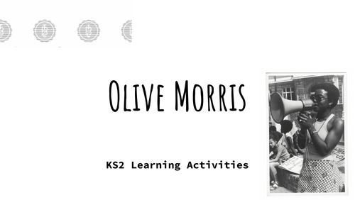 Olive Morris - KS2