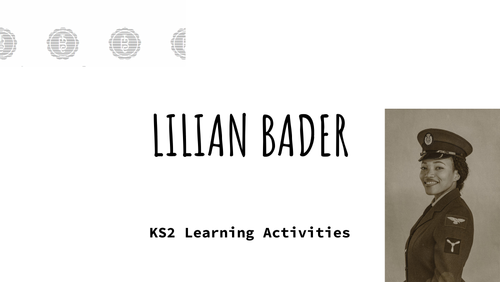 Lilian Bader - KS2