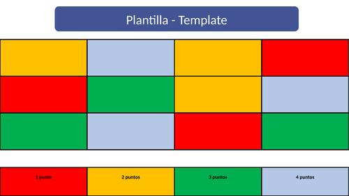 GCSE Spanish Retrieval Grid (General)