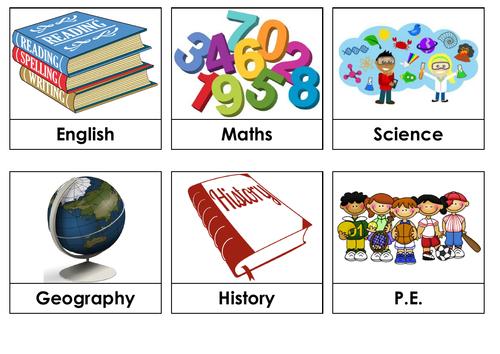 Classroom Visual timetable