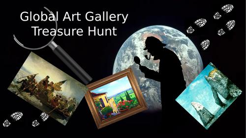 Global Art Treasure Hunt
