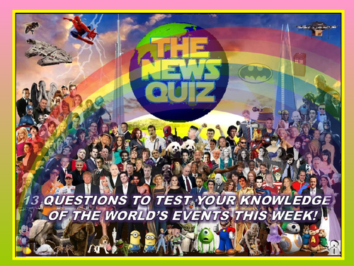 The News Quiz 29th June - 6th July 2020 Form Tutor Time Current Affairs