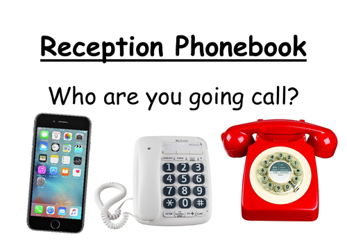 Reception Phone Book