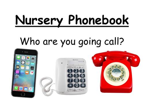 Nursery Phone Book