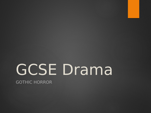 Let The Right One In GCSE AQA Drama SOW